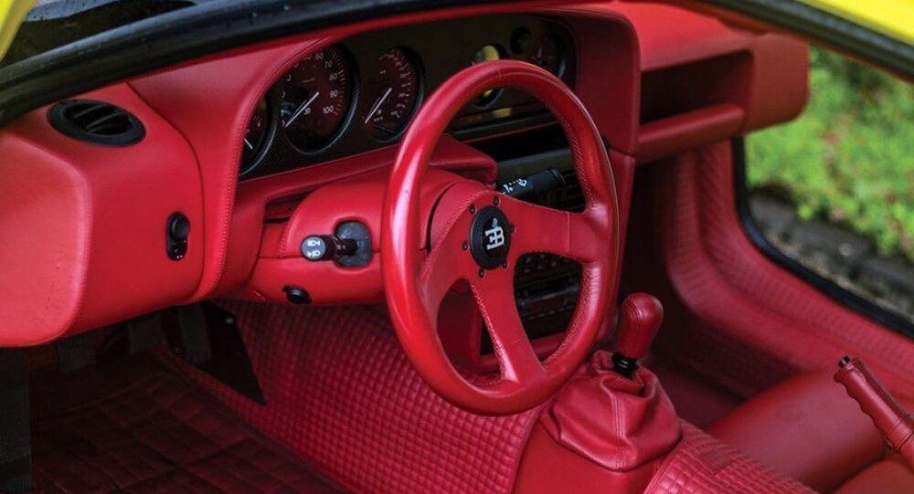El Bugatti EB110 SS