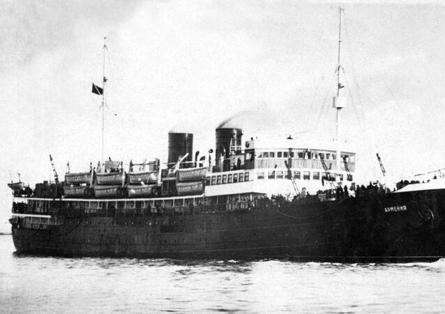 Nave Armenia (immagine d'archivio)