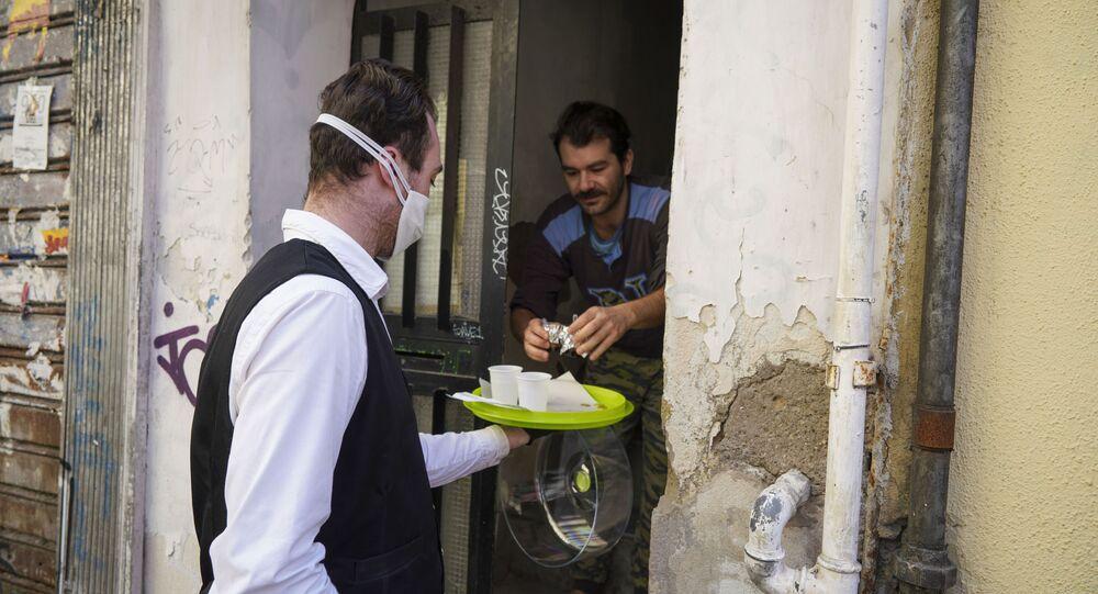 La consegna di caffè a domicilio a Napoli