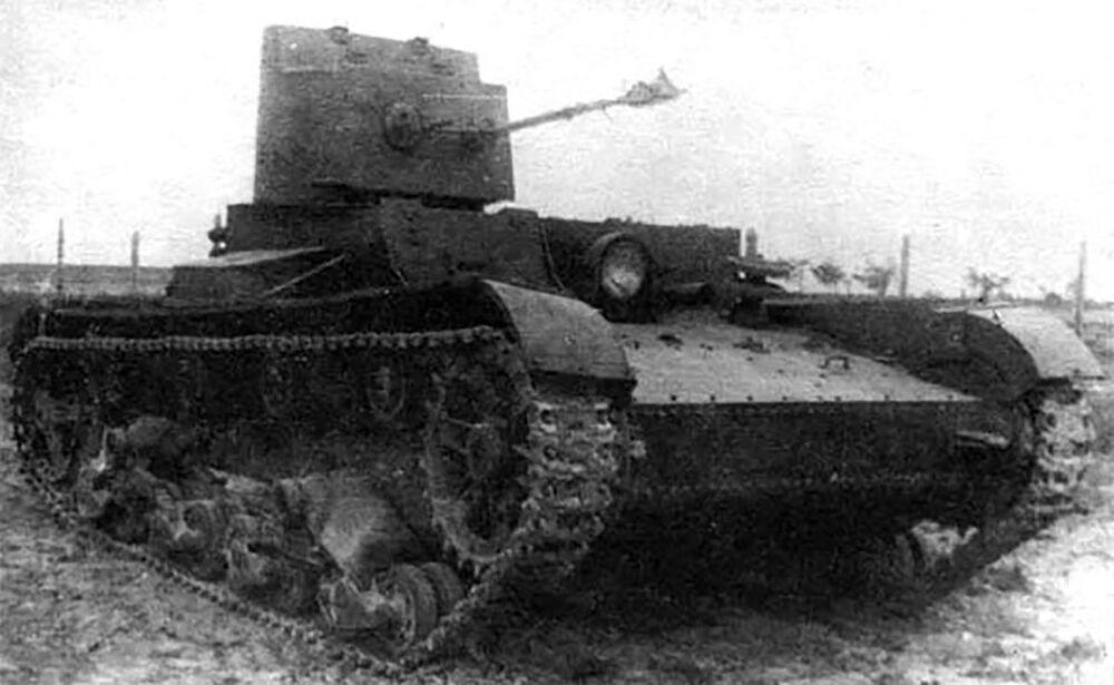 Il carro armato anti guerra chimica XT-26 prodotto dall'Unione Sovietica