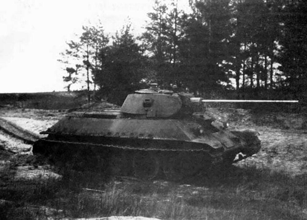 Il carro armato T-34-57