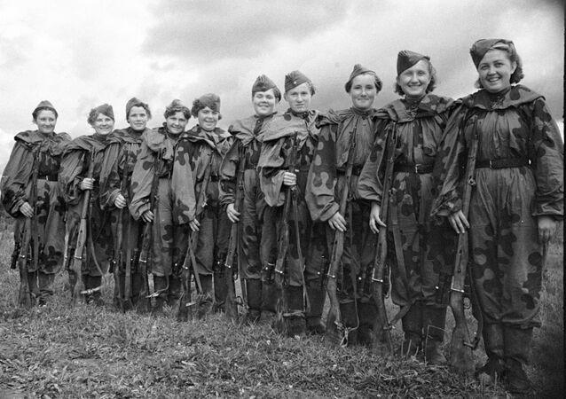 Cecchine dell'Armata Rossa (foto d'archivio)