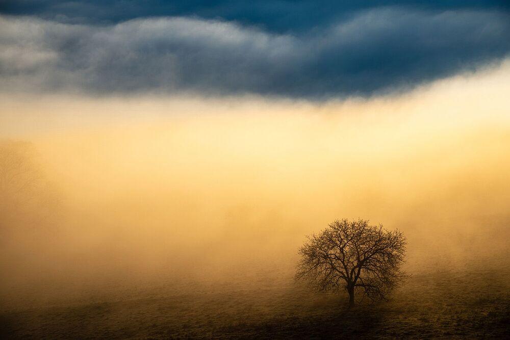 Lo scatto Luce magica di Benjamin Waldmann. Il vincitore della categoria Paesaggi.