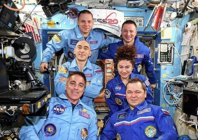 Astronauti della Stazione Spaziale Internazionale (foto d'archivio)