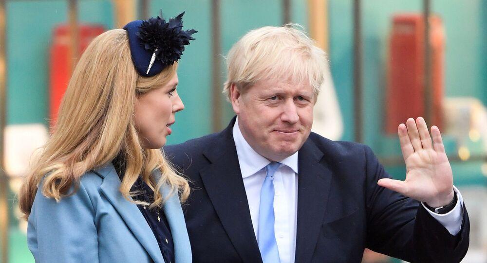 Boris Johnson e Carrie Symonds