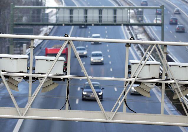 Un'autostrada in Baviera