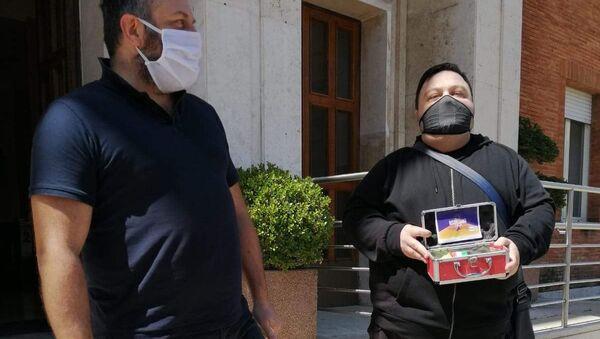 Protesta Risorgiamo Italia - Sputnik Italia