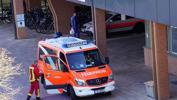 Ambulanza a Berlino, Germania - Sputnik Italia