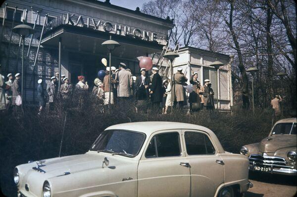 La celebrazione del Vappu del 1° maggio in Finlandia, 1950. - Sputnik Italia
