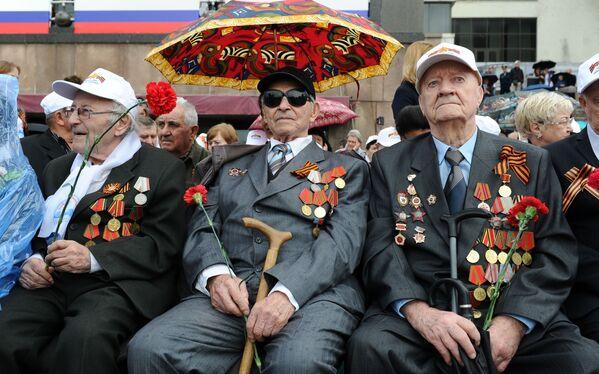 La parata militare per il 71esimo anniversario della Vittoria nella Seconda Guerra Mondiale. - Sputnik Italia