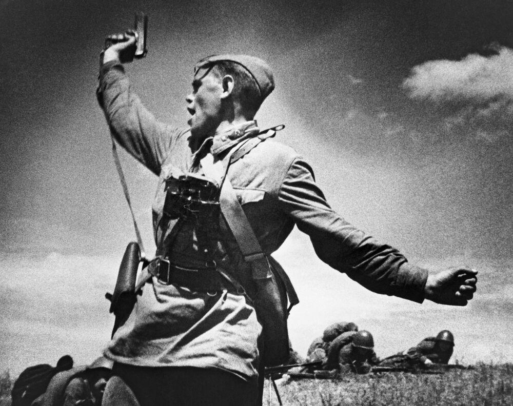 La foto Comandante di battaglione di Maks Alpert.