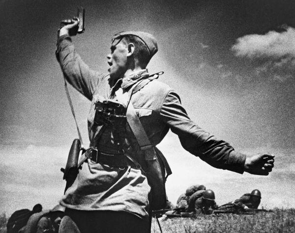 La foto Comandante di battaglione di Maks Alpert.  - Sputnik Italia