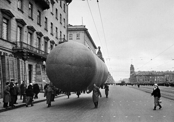 Un aerostato a Leningrado. - Sputnik Italia