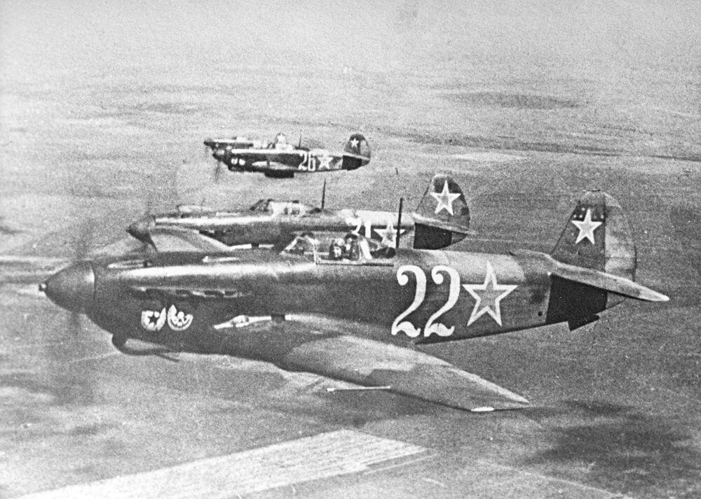 Il caccia Yak-9.