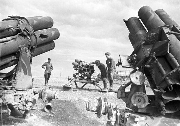 Mortai, trofei di guerra. Seconda Guerra Mondiale - Sputnik Italia