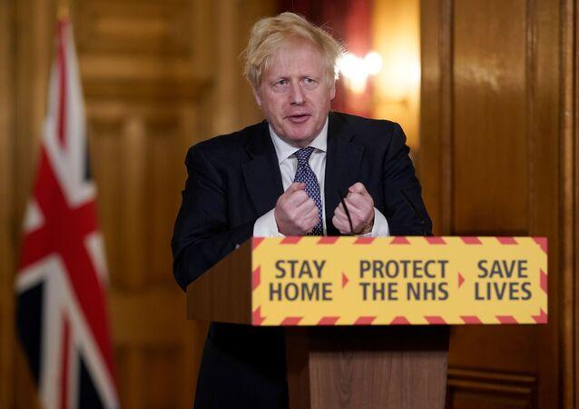 Conferenza stampa Boris Johnson