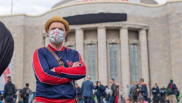 Proteste in Rosa-Luxemburg-Platz - Sputnik Italia