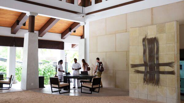 La reception di un hotel alle Maldive - Sputnik Italia