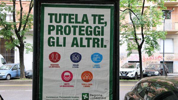 Coronavirus in Italia - Sputnik Italia