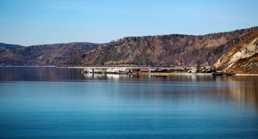 Il lago Baikal