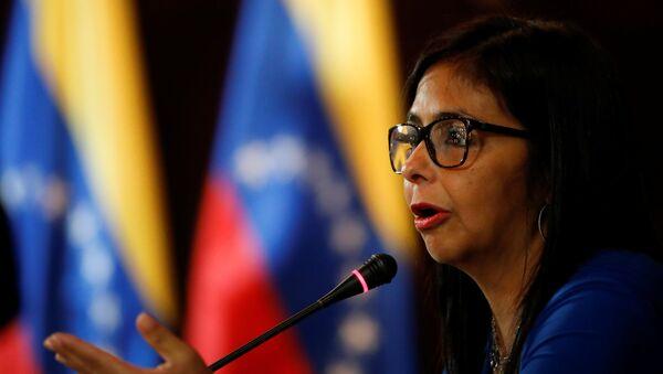 Delcy Rodríguez, vicepresidente del Venezuela - Sputnik Italia