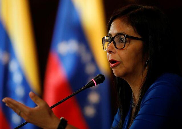 Delcy Rodríguez, vicepresidente del Venezuela