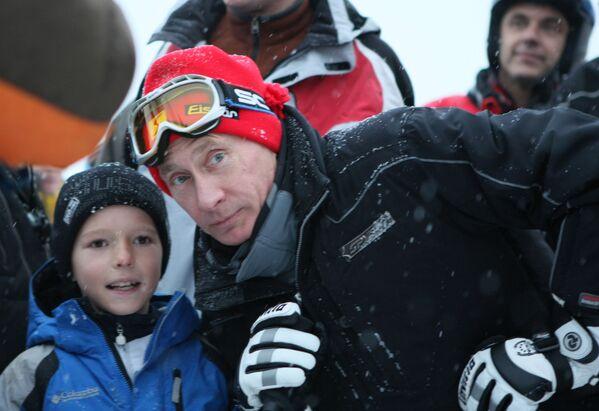 Il primo ministro Vladimir Putin a Sochi, il 4 gennaio 2009. - Sputnik Italia