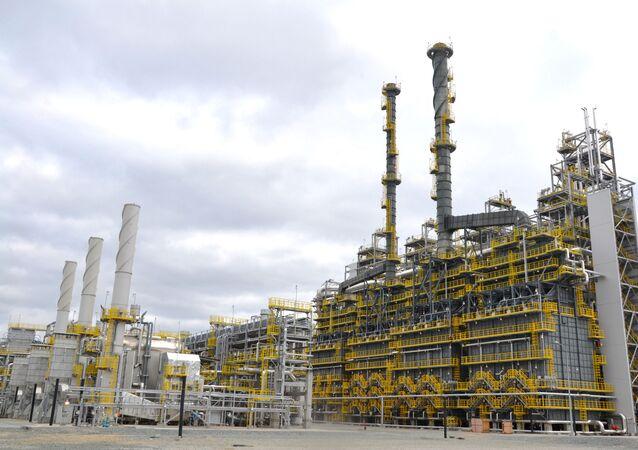L'impianto SIBUR di deidrogenazione del propano a Tobolsk in Russia