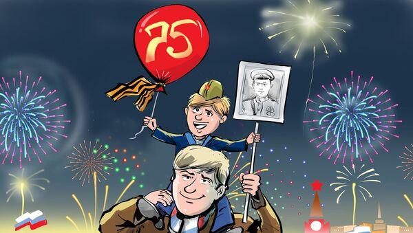 Il 75° anniversario della fine della Seconda Guerra Mondiale - Sputnik Italia