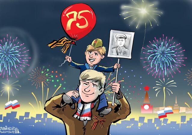 Il 75° anniversario della fine della Seconda Guerra Mondiale