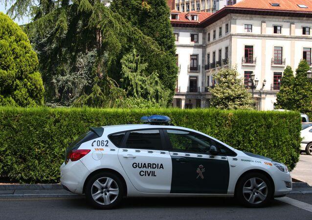 Un veicolo della Guardia Civile spagnola (archivio)