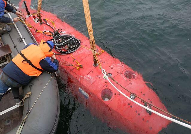 Il sottomarino Vityaz-D