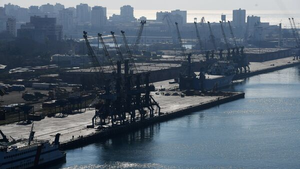 Latakia porto - Sputnik Italia