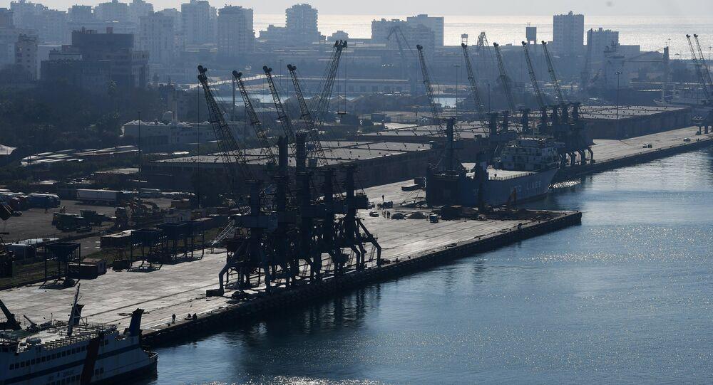 Il porto di Latakia