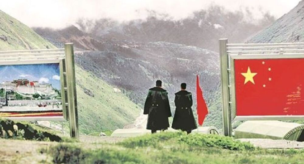 India-China Sikkim border