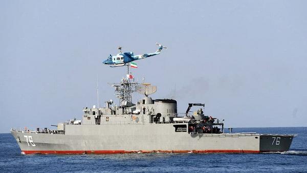 Una fregata iraniana della classe Moudge  - Sputnik Italia