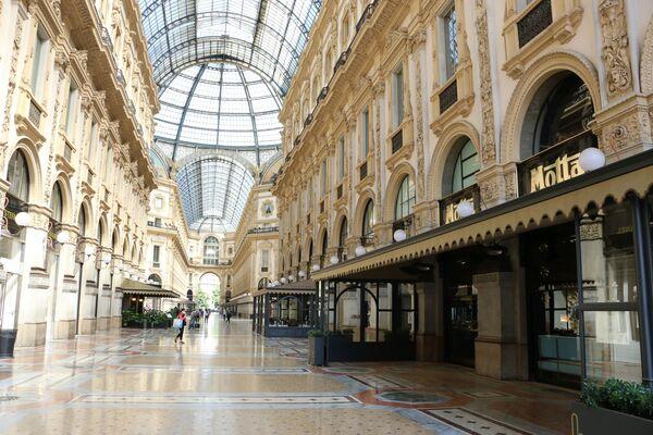Fase 2: una passeggiata a Milano - Sputnik Italia