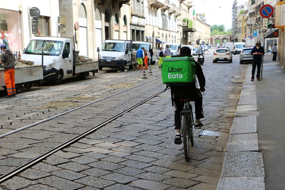 Milano dopo l'inizio della Fase 2