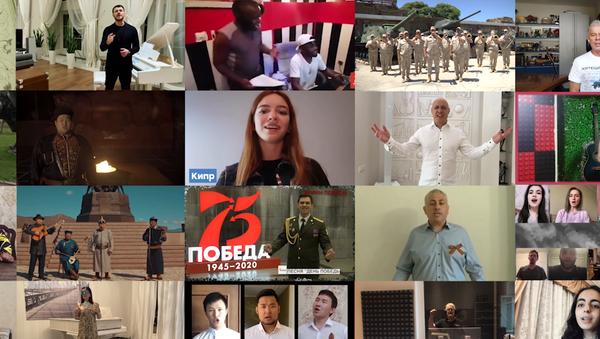 Persone di tutto il mondo cantano l'inno sovietico della seconda guerra mondiale - Sputnik Italia