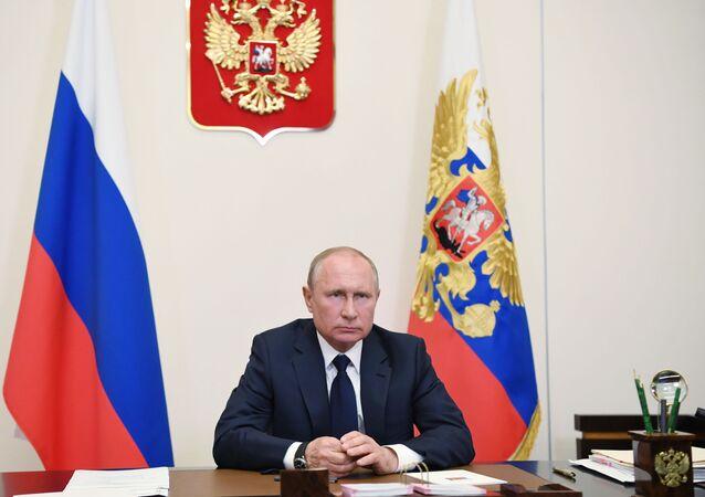 Putin si rivolge alla nazione