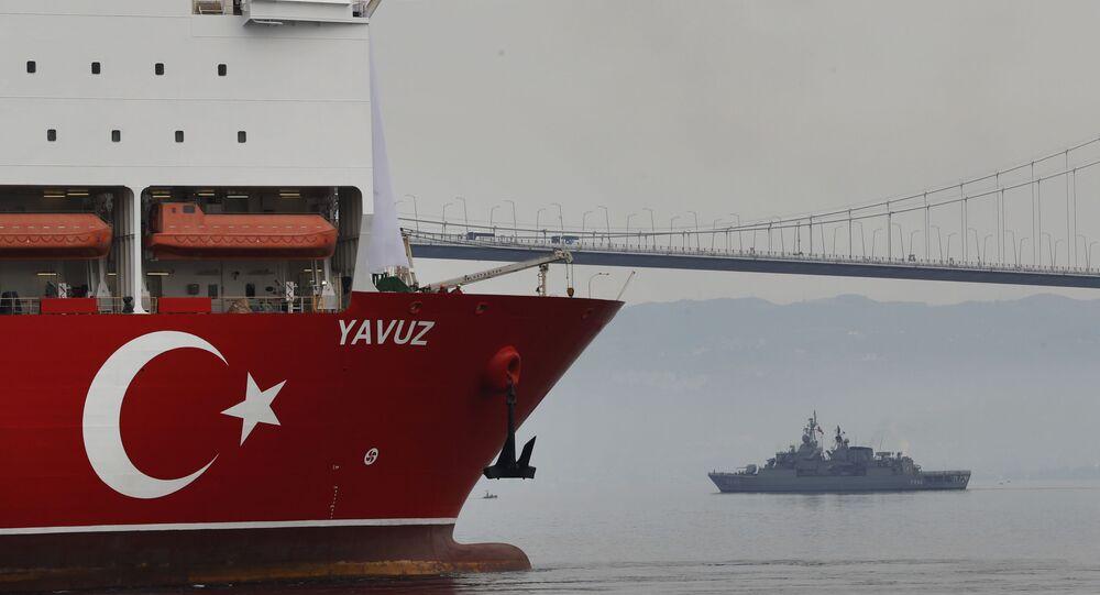 Nave turca (foto d'archivio)