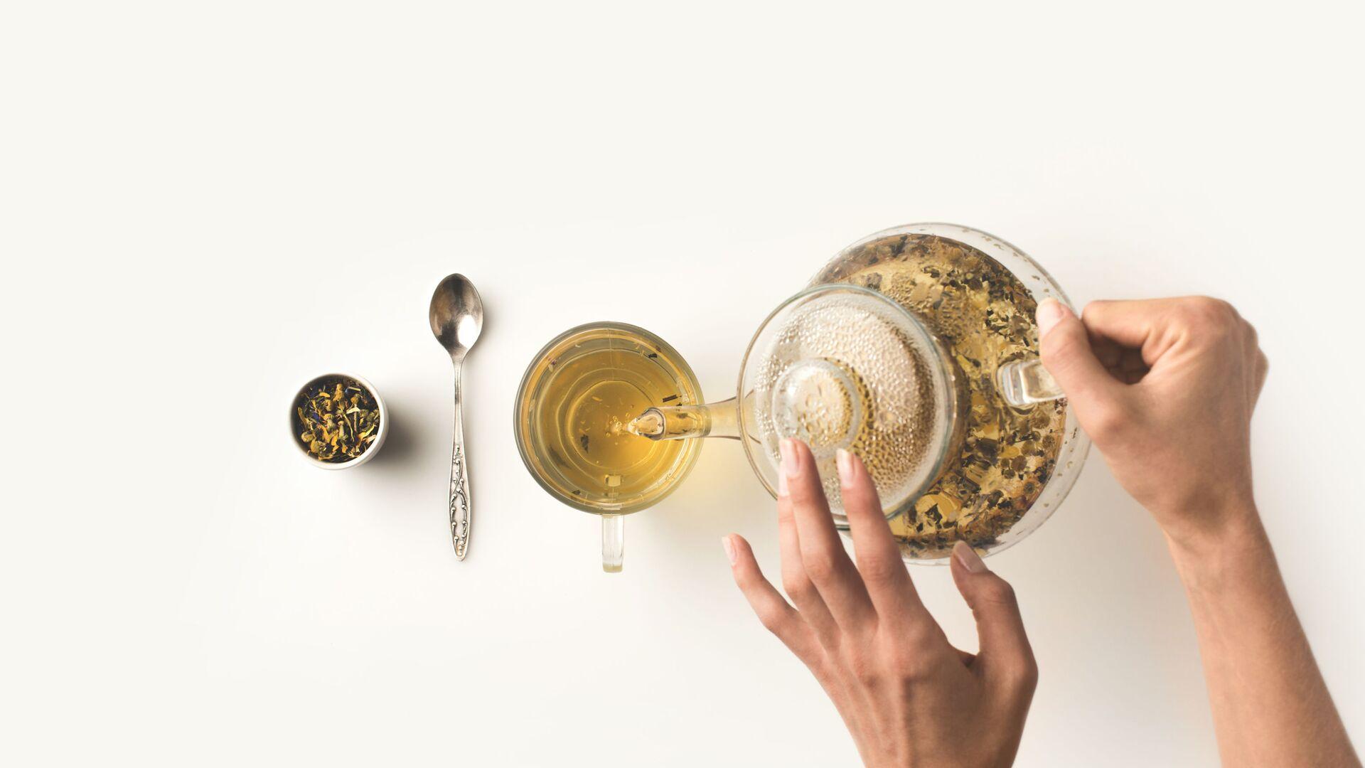 Il tè verde - Sputnik Italia, 1920, 13.03.2021
