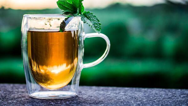 Il tè verde con la menta - Sputnik Italia