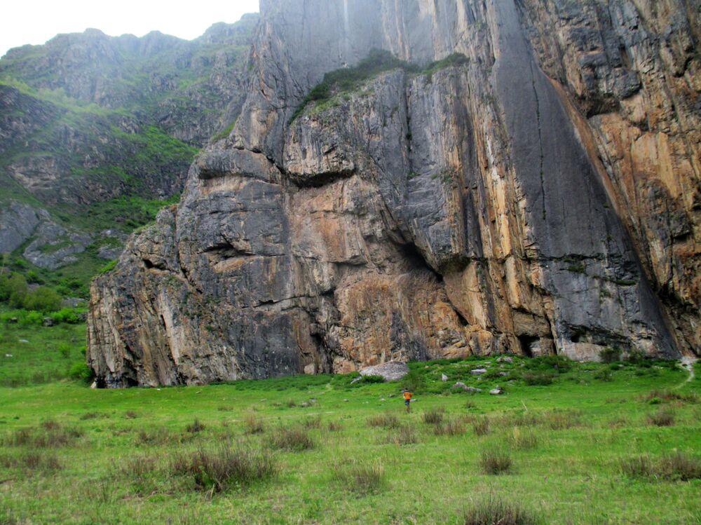 La Roccia dello Sciamano nella Repubblica di Altai.