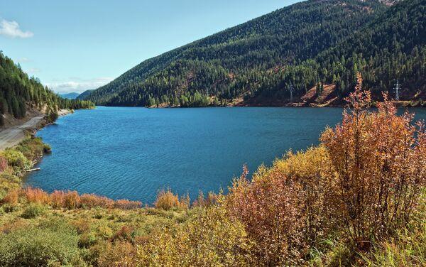 Il lago Čejbekkël' in Altai. - Sputnik Italia