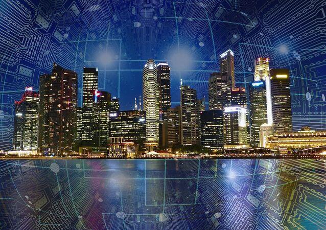 Città del futuro - rappresentazione artistica
