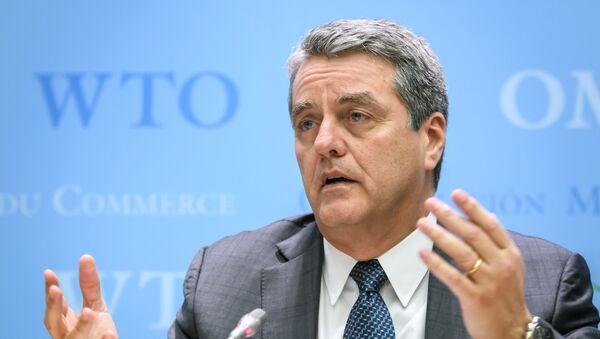 Roberto Azevedo, il Direttore Generale del World Trade Organization (WTO)  - Sputnik Italia