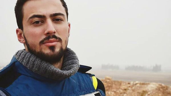 Il giornalista ucciso in Siria Khaled Alkhateb - Sputnik Italia