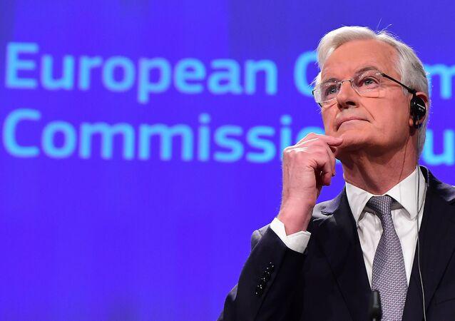 il negoziatore dell'UE per la Brexit Michel Barnier