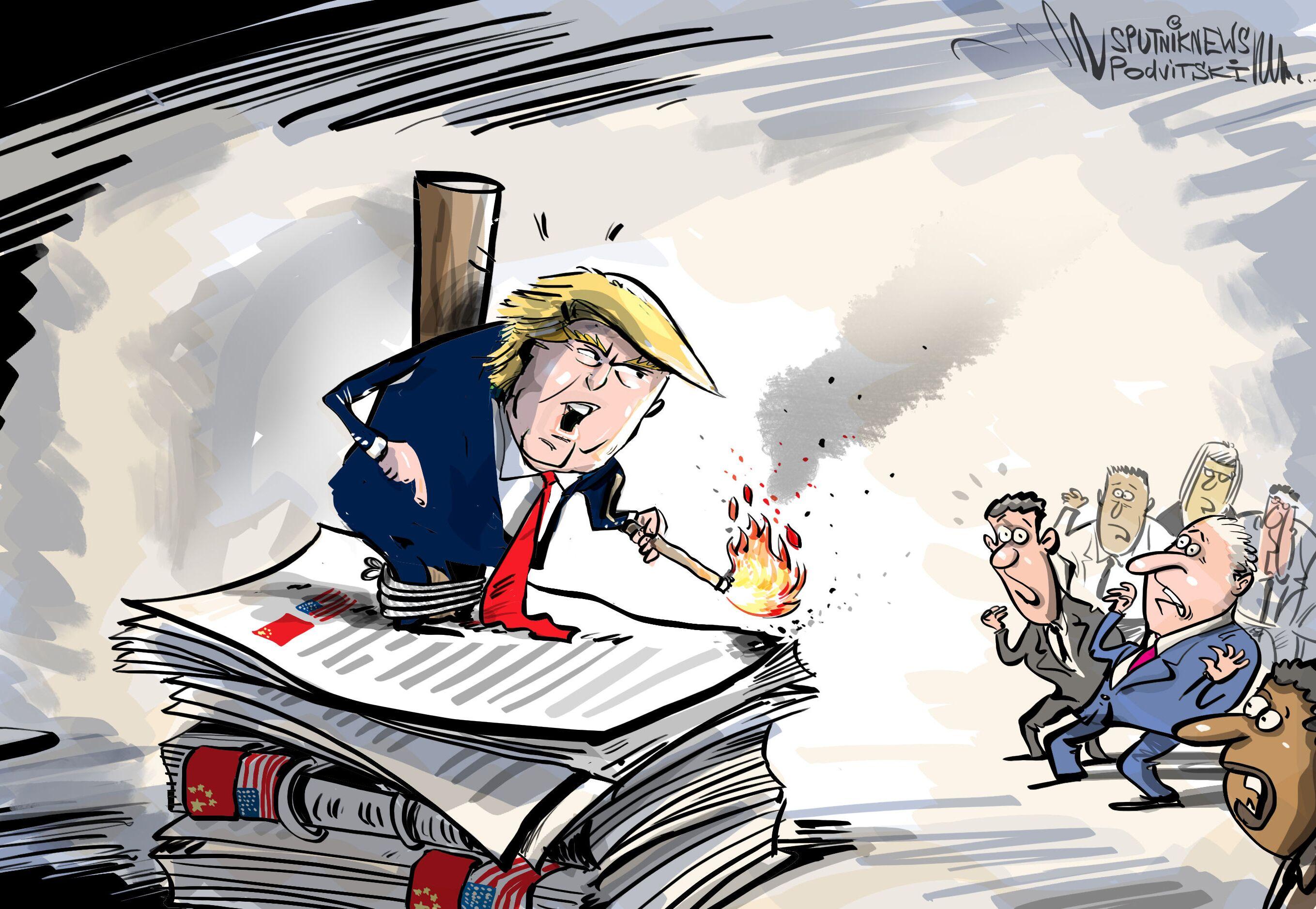 Le possibili sanzioni USA contro la Cina per il COVID-19
